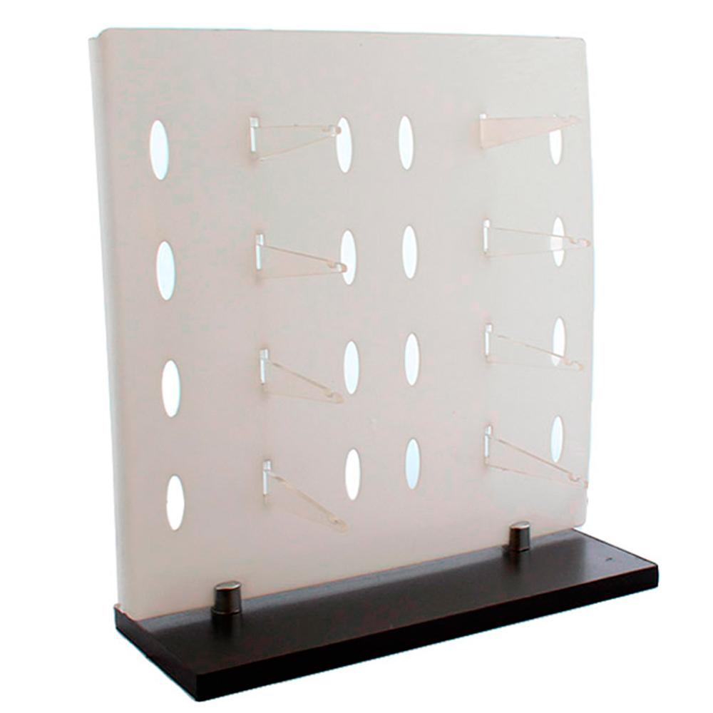 Expositor para 8 Óculos em Plástico e MDF OT7HG Branco