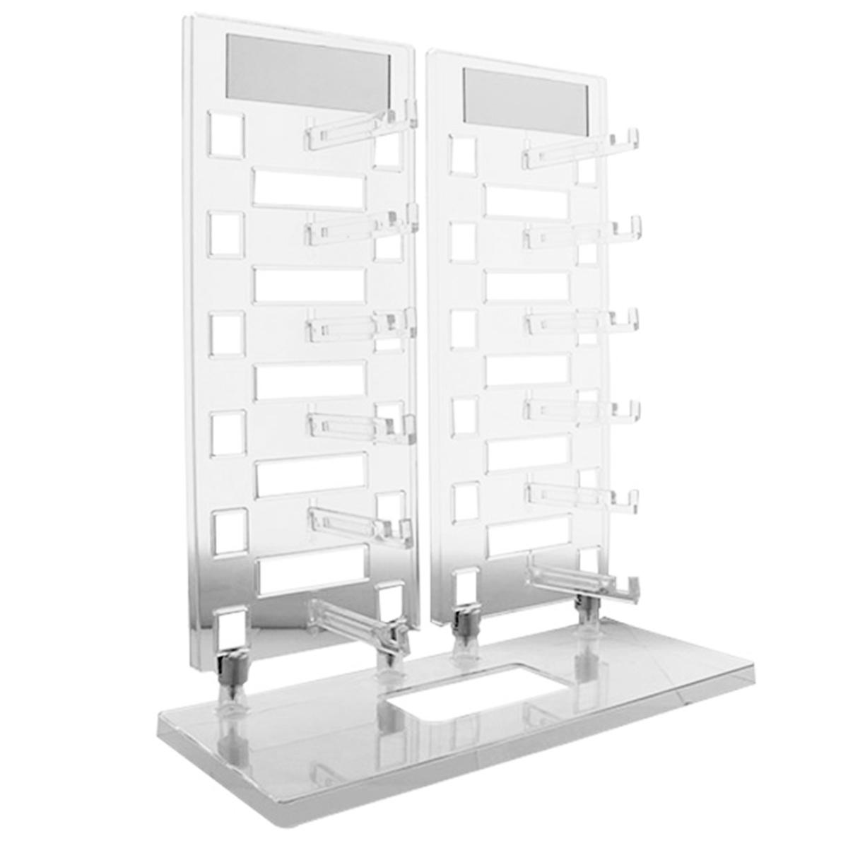Expositor Torre para 12 Óculos com Espelhos EP12 Transparente
