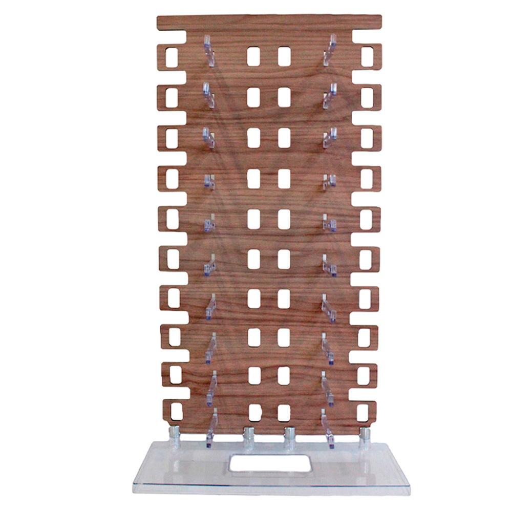 Expositor Torre para 20 Óculos em MDF EP20M Marrom