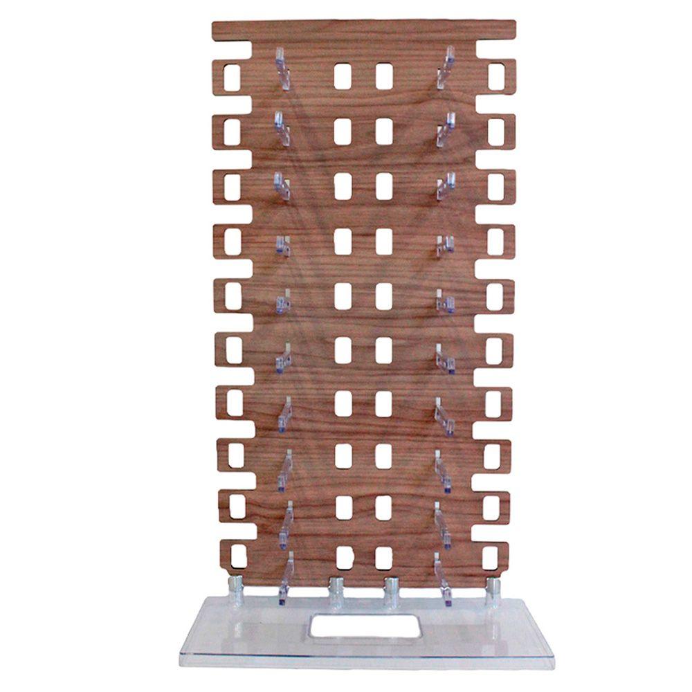 Expositor Torre para 20 Óculos em MDF EP20Z Marrom