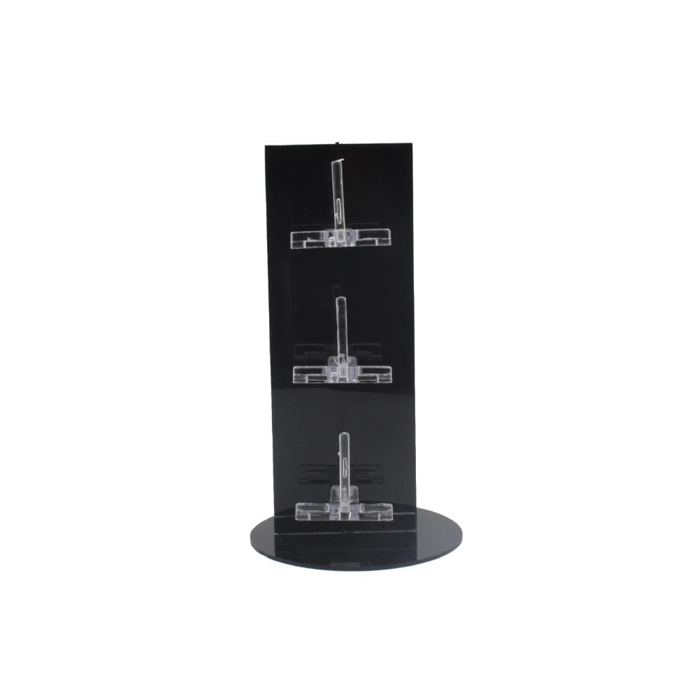 Expositor Torre para 3 Óculos em Plástico T003 Preto