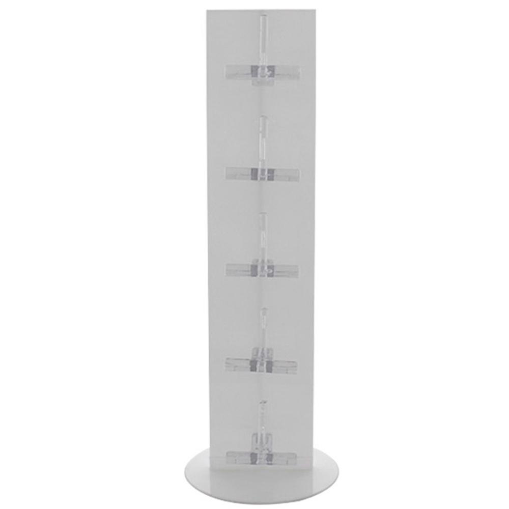 Expositor Torre para 5 Óculos em Plástico OTOR5 Branco