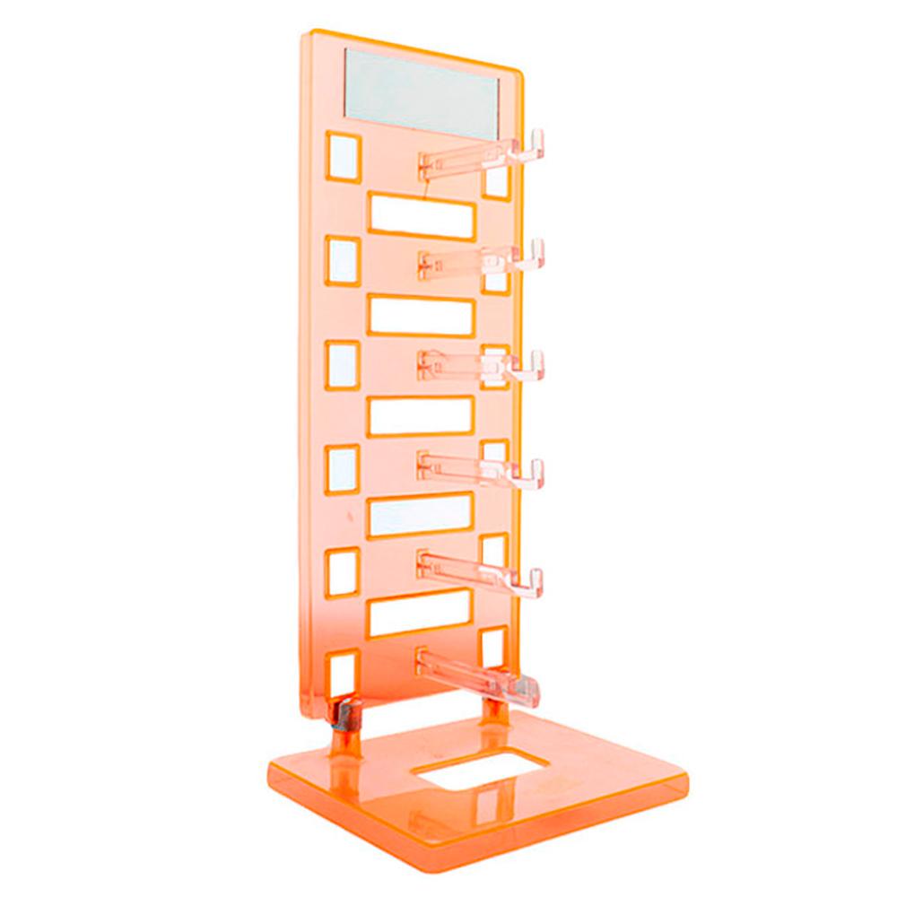 Expositor Torre para 6 Óculos com Espelho EP6L Laranja