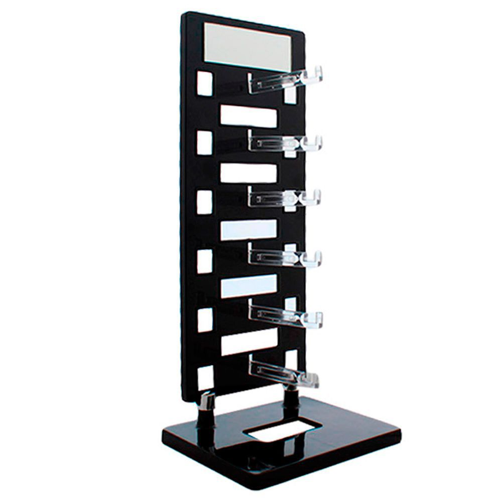 Expositor Torre para 6 Óculos com Espelho EP6L Preto