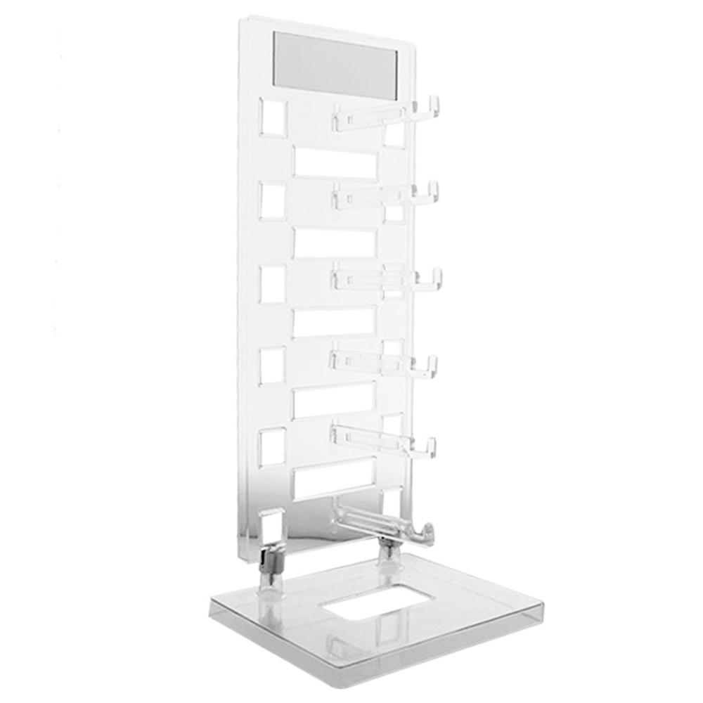 Expositor Torre para 6 Óculos com Espelho EP6L Transparente