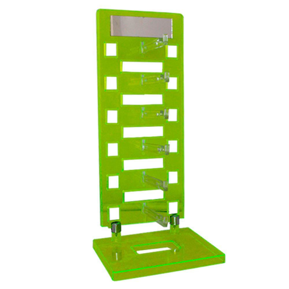 Expositor Torre para 6 Óculos com Espelho EP6L Verde