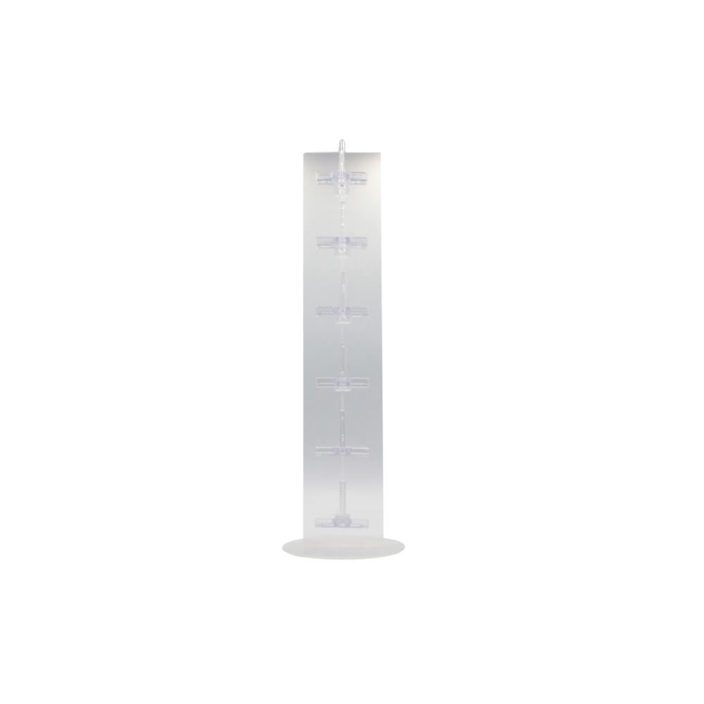 Expositor Torre para 6 Óculos em Plástico T006 Transparente