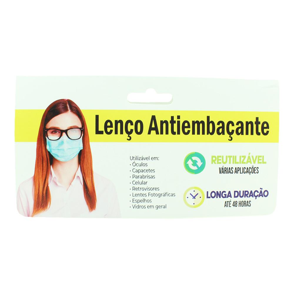 Flanela Antiembaçante para Limpeza de Óculos em Microfibra 0808 - Unidade