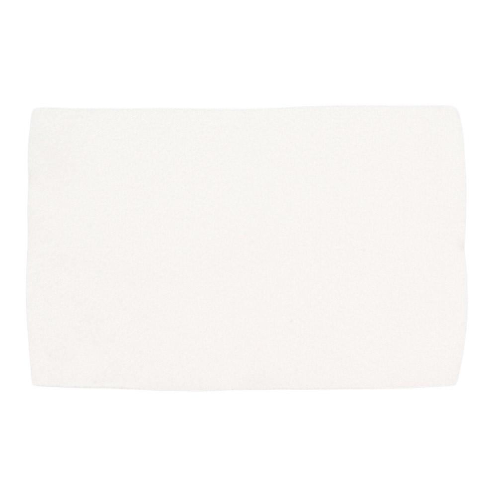 Flanela para Limpeza de Óculos 007F Branca com 5 Unidades