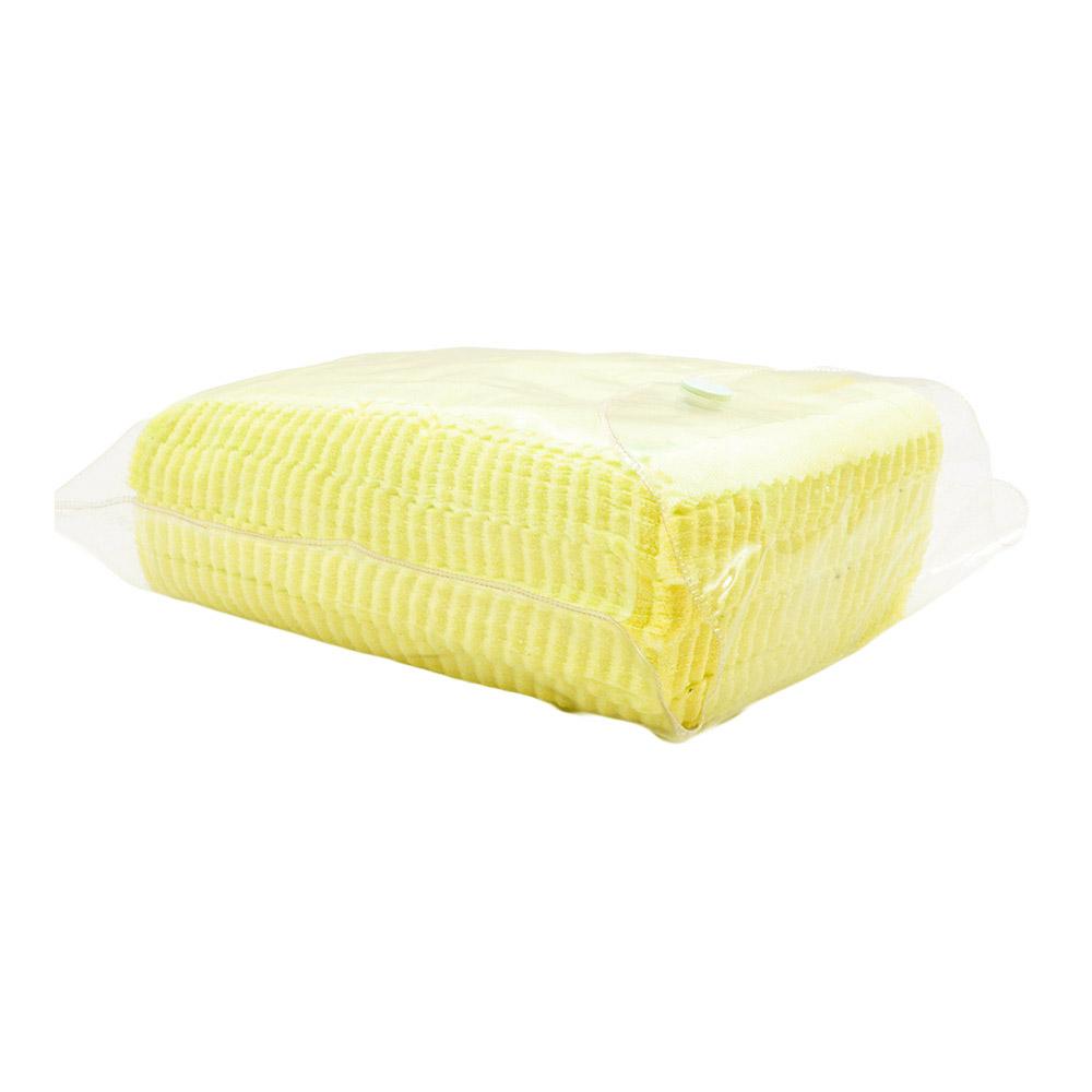 Flanela para Limpeza de Óculos em Poliéster 004 Amarela com 100 Unidades
