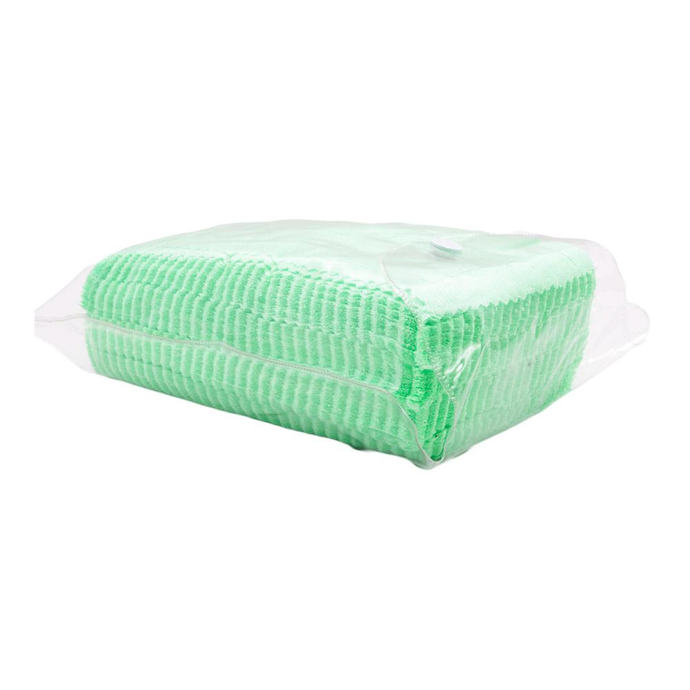 Flanela para Limpeza de Óculos em Poliéster 004 Verde com 100 Unidades