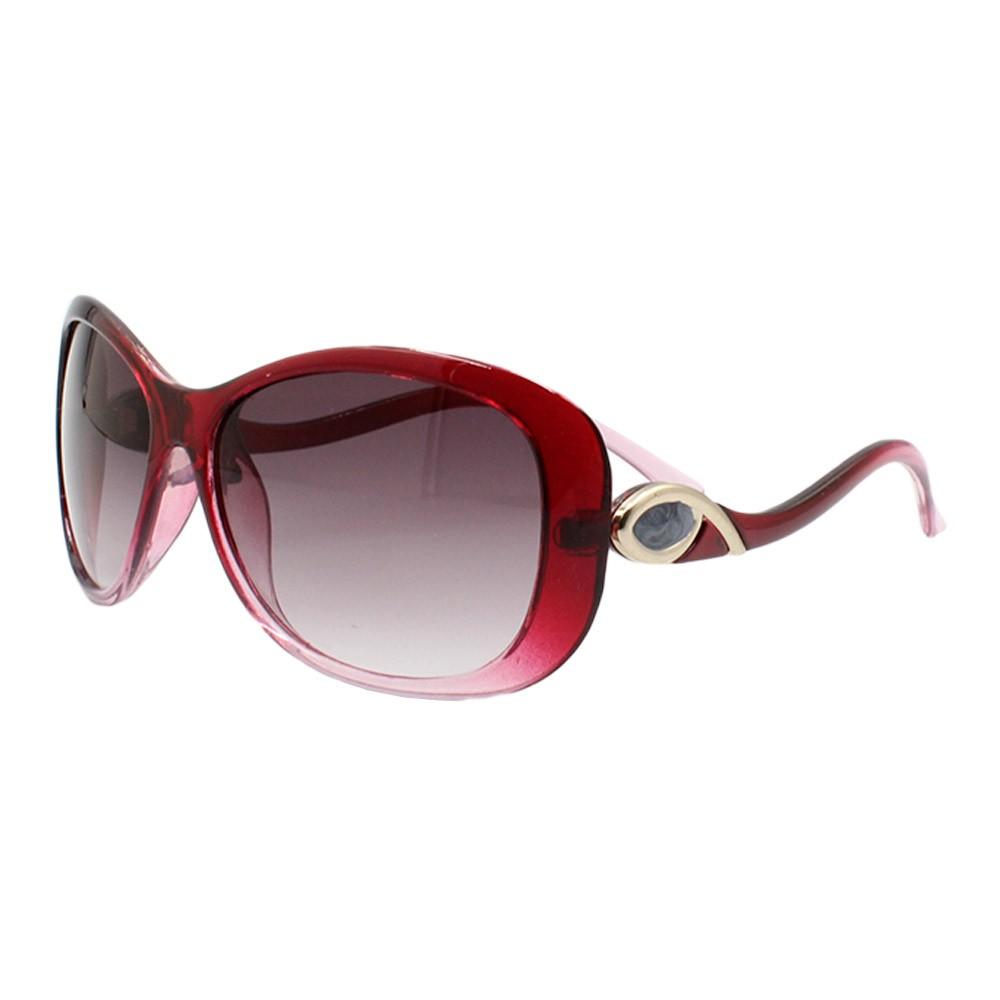 Óculos Solar Feminino 12071 Vinho Degradê
