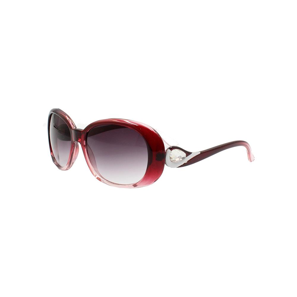 Óculos Solar Feminino 8622 Vinho Degradê