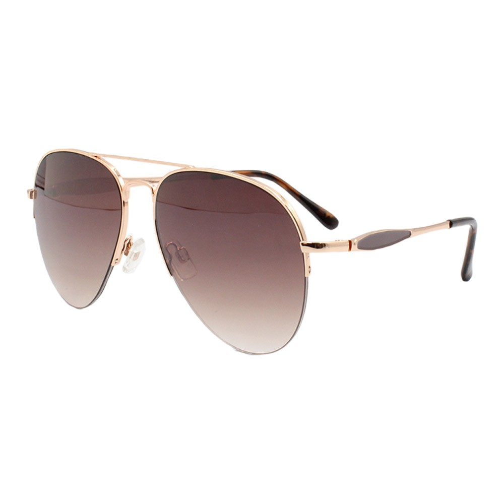 Óculos Solar Feminino Aviador B88444 Marrom Mesclado
