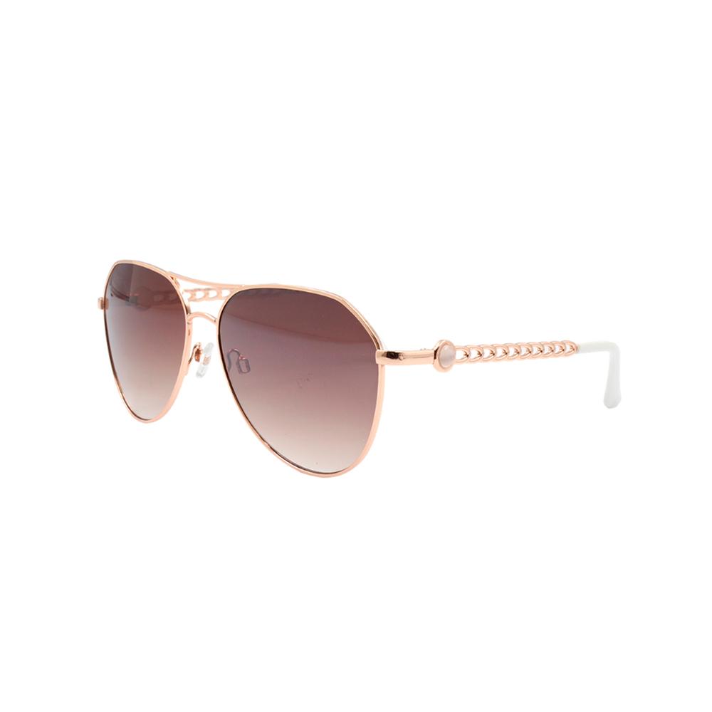 Óculos Solar Feminino Aviador B88455 Dourado e Marrom