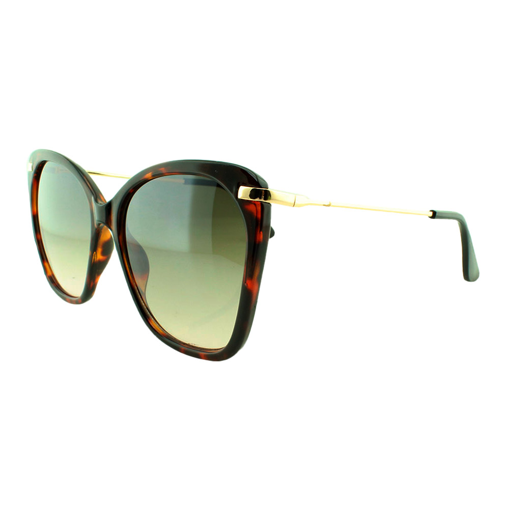 Óculos Solar Feminino B881453 Marrom Mesclado