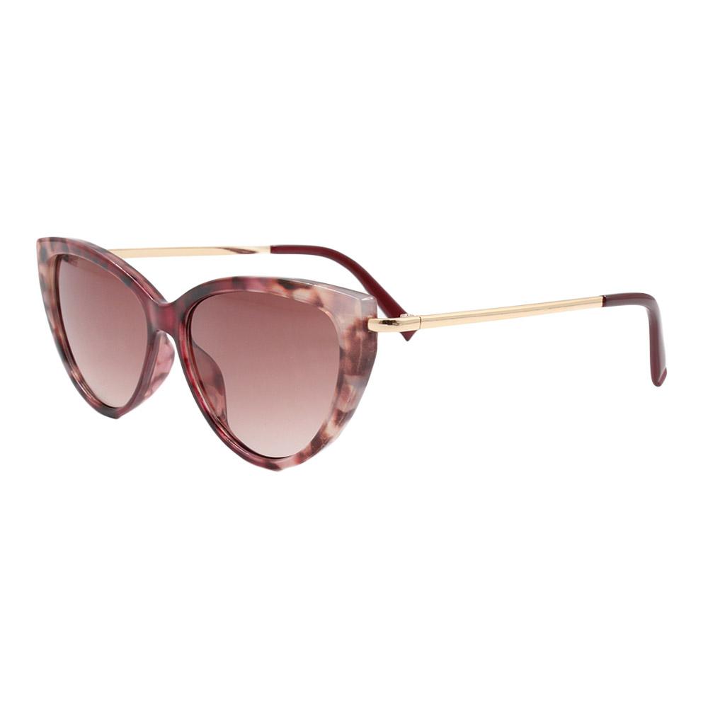 Óculos Solar Feminino B881476 Vinho Mesclado