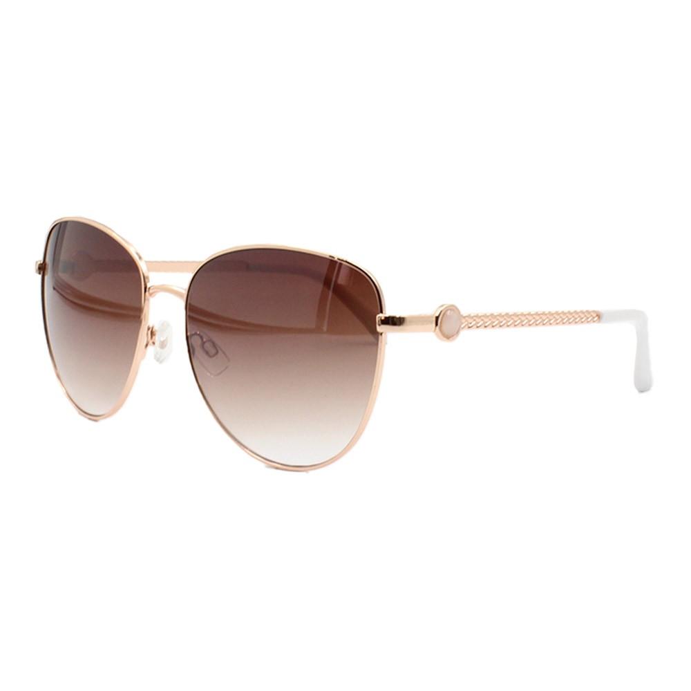 Óculos Solar Feminino B88450 Dourado e Marrom