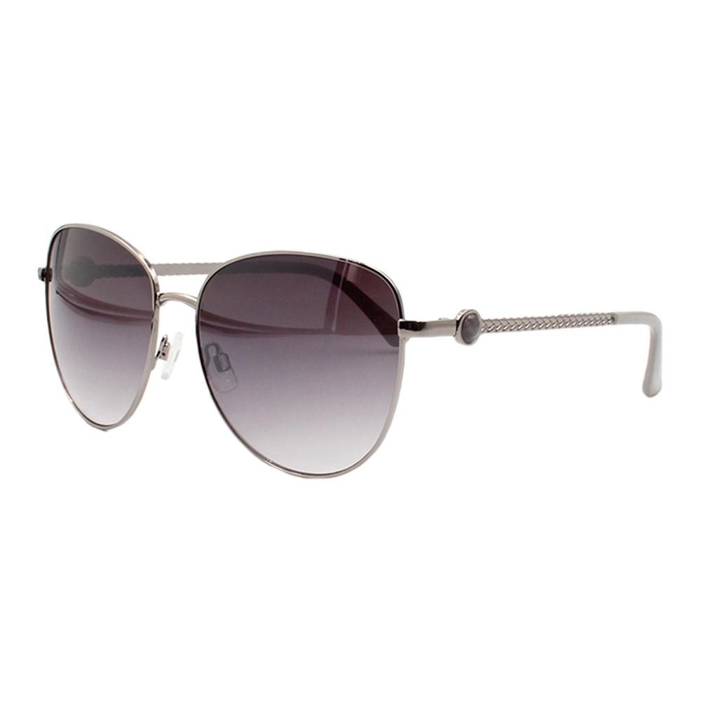 Óculos Solar Feminino B88450 Prata e Preto
