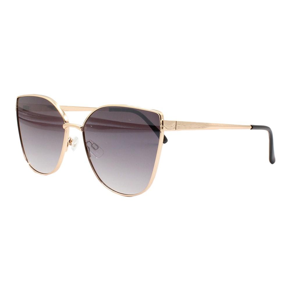 Óculos Solar Feminino B88454 Dourado e Preto