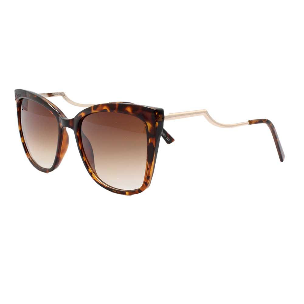 Óculos Solar Feminino CJH72158 Marrom Mesclado