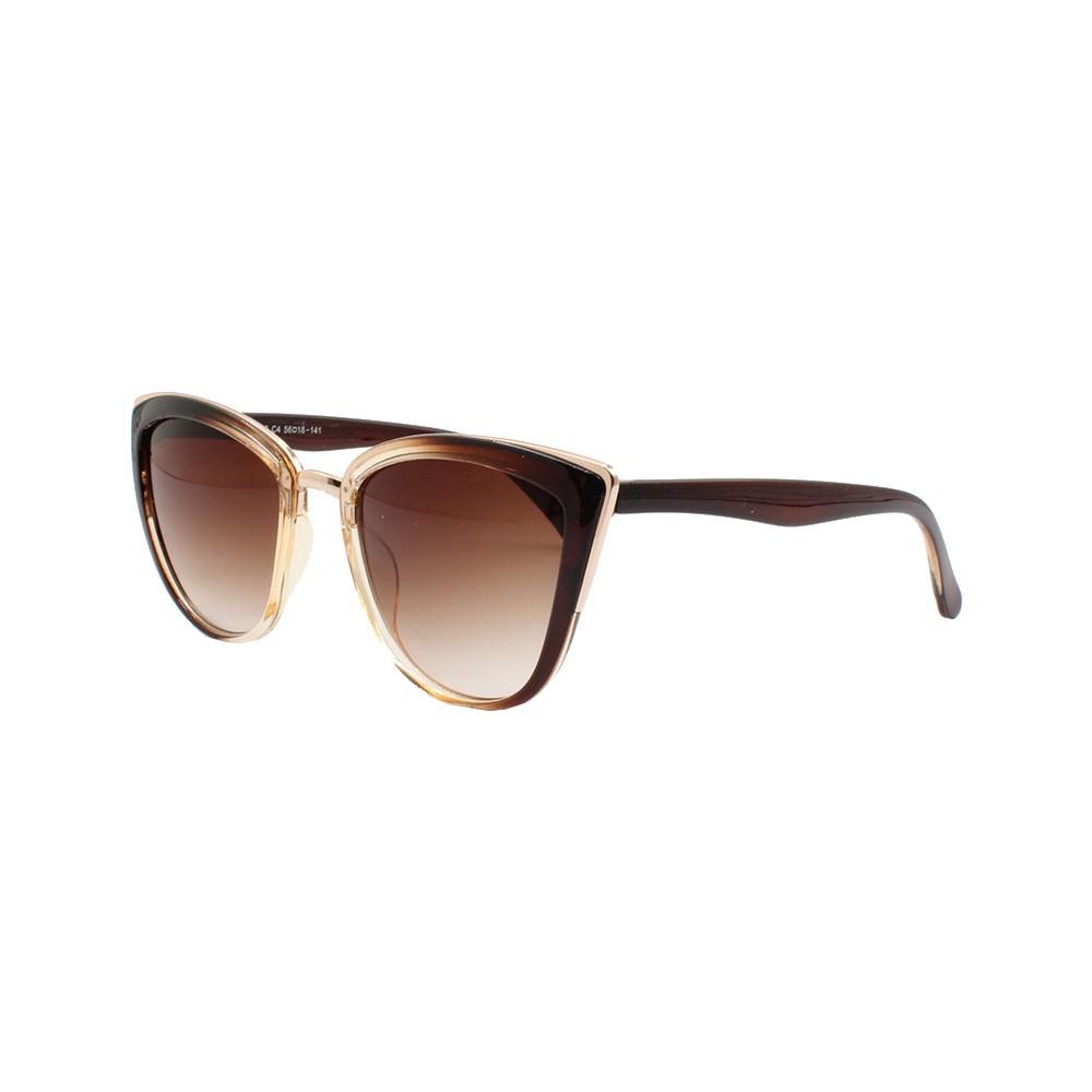 Óculos Solar Feminino CJH72190 Marrom Gradiente