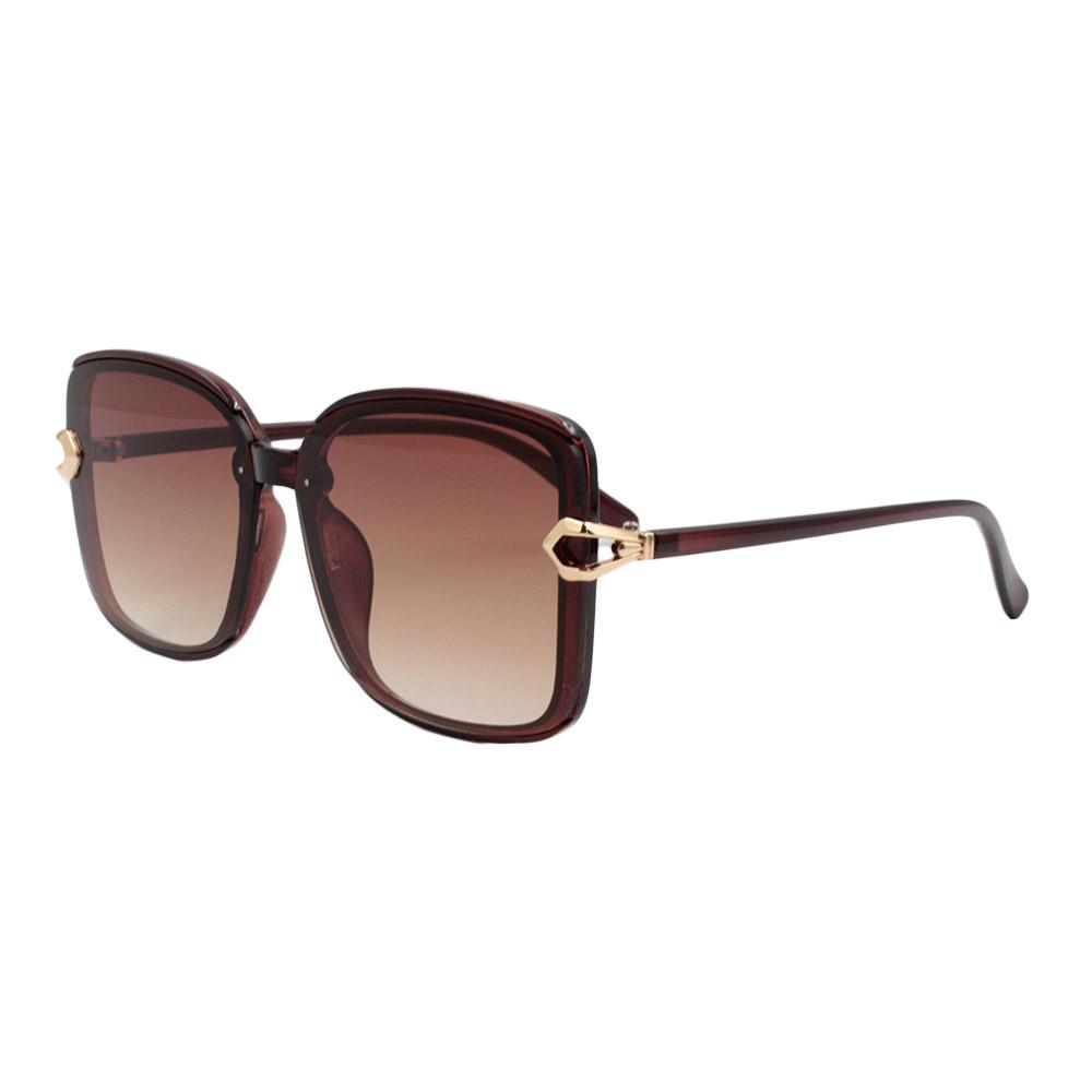 Óculos Solar Feminino FY8181 Marrom