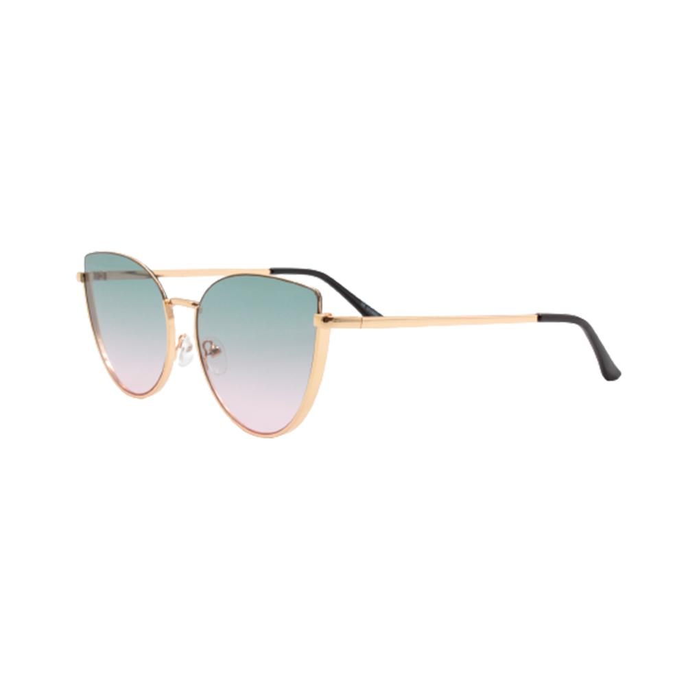 Óculos Solar Feminino FY8198-C4 Dourado e Colorido