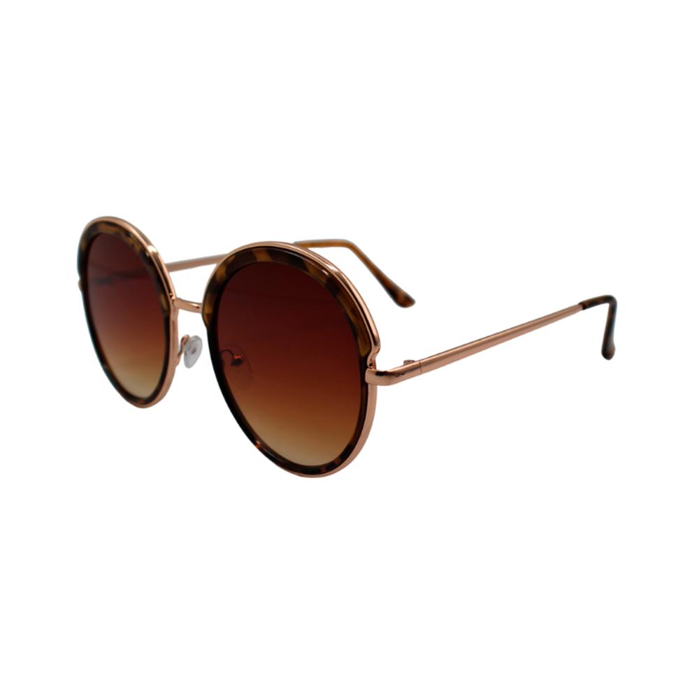 Óculos Solar Feminino H02173-C4 Marrom Mesclado