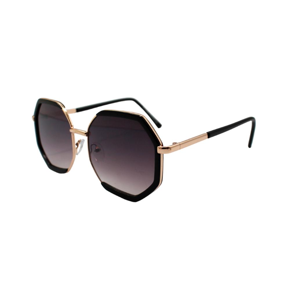 Óculos Solar Feminino H02296-C2 Dourado e Preto