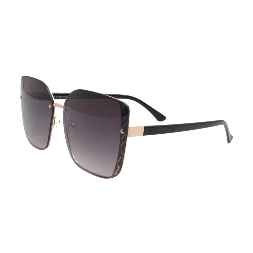 Óculos Solar Feminino H02302-C2 Dourado e Preto