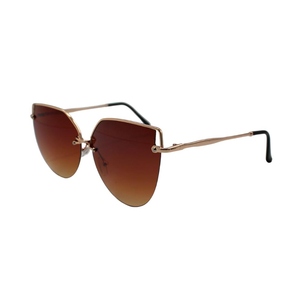 Óculos Solar Feminino H02304-C2 Dourado e Marrom
