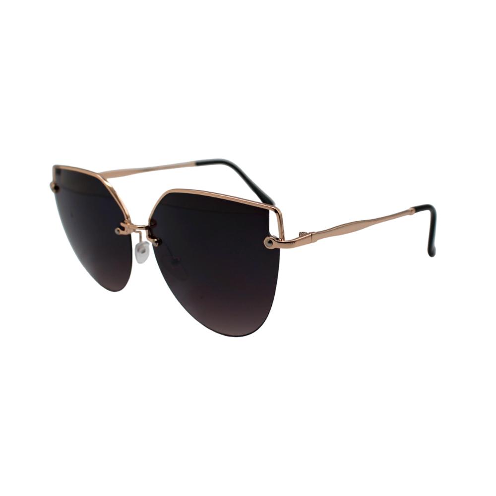 Óculos Solar Feminino H02304-C2 Dourado e Preto