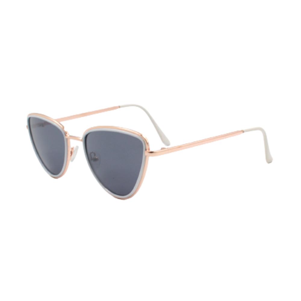 Óculos Solar Feminino H02352-C1 Dourado e Branco