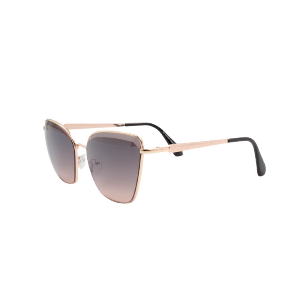 Óculos Solar Feminino H02357-C4 Dourado e Fumê
