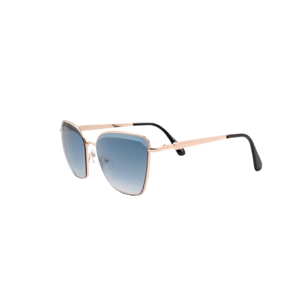Óculos Solar Feminino H02357-C5 Dourado e Azul