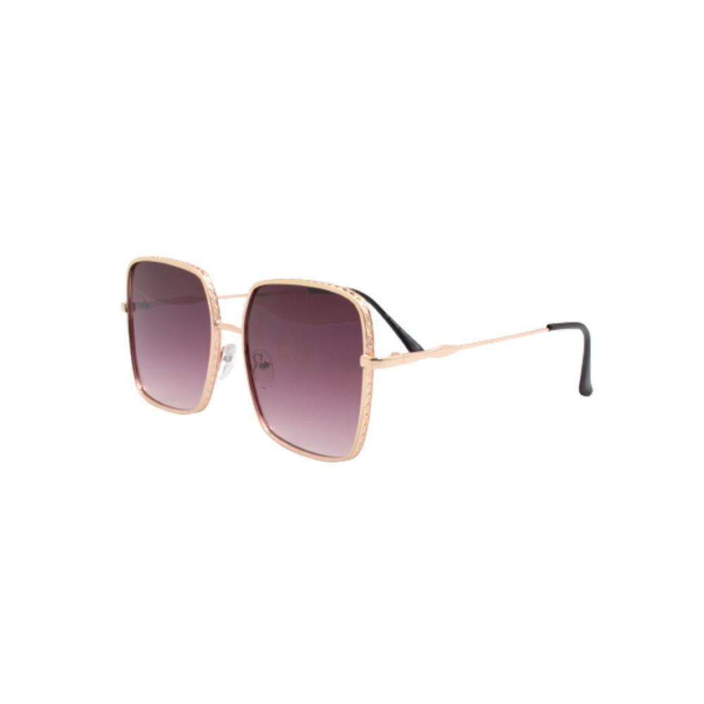 Óculos Solar Feminino H02378-C3 Dourado e Roxo