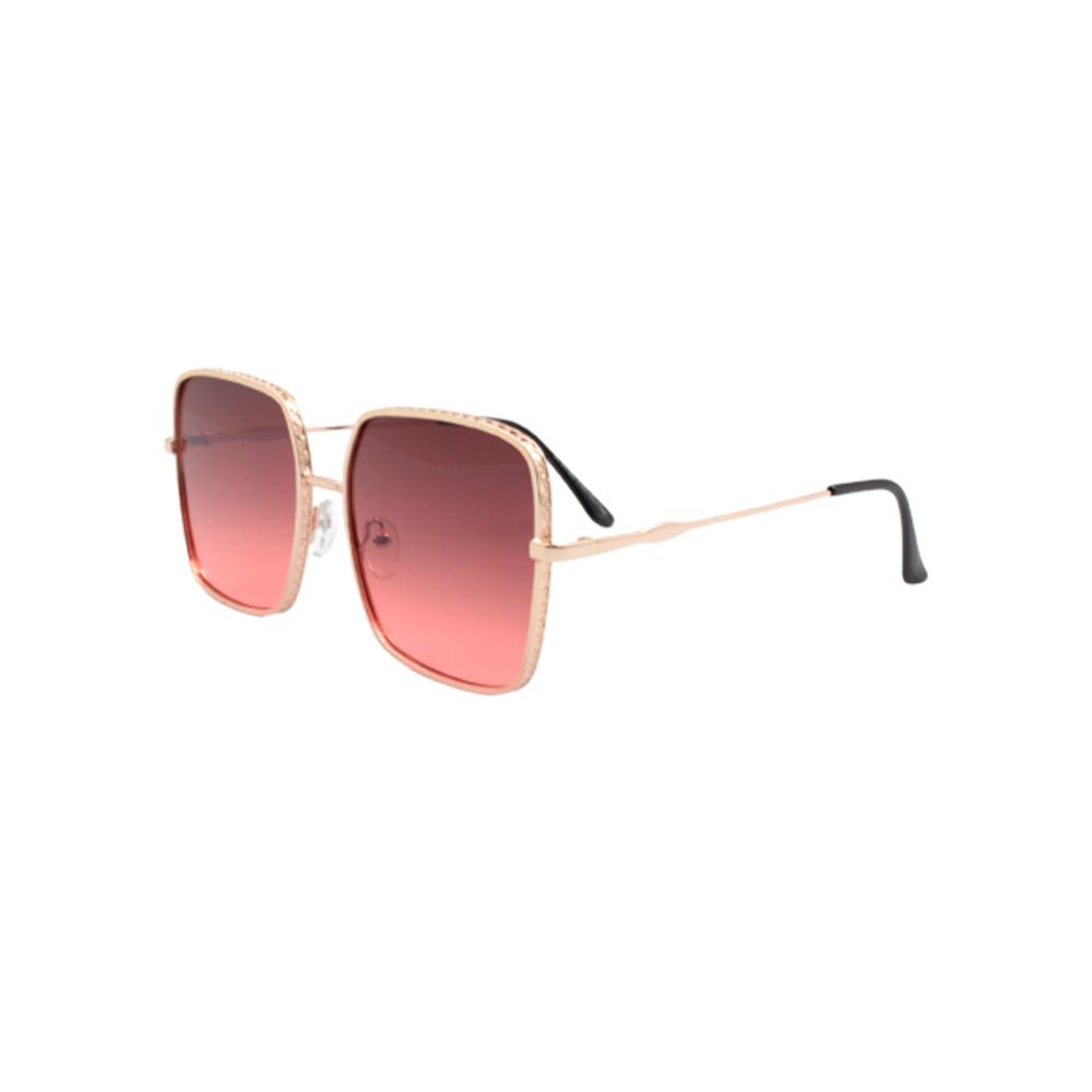 Óculos Solar Feminino H02378-C5 Dourado e Rosa