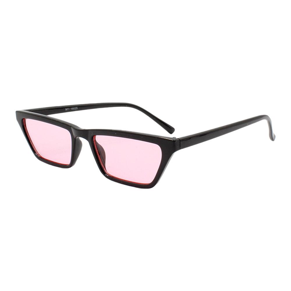 Óculos Solar Feminino NY18025 Preto e Rosa