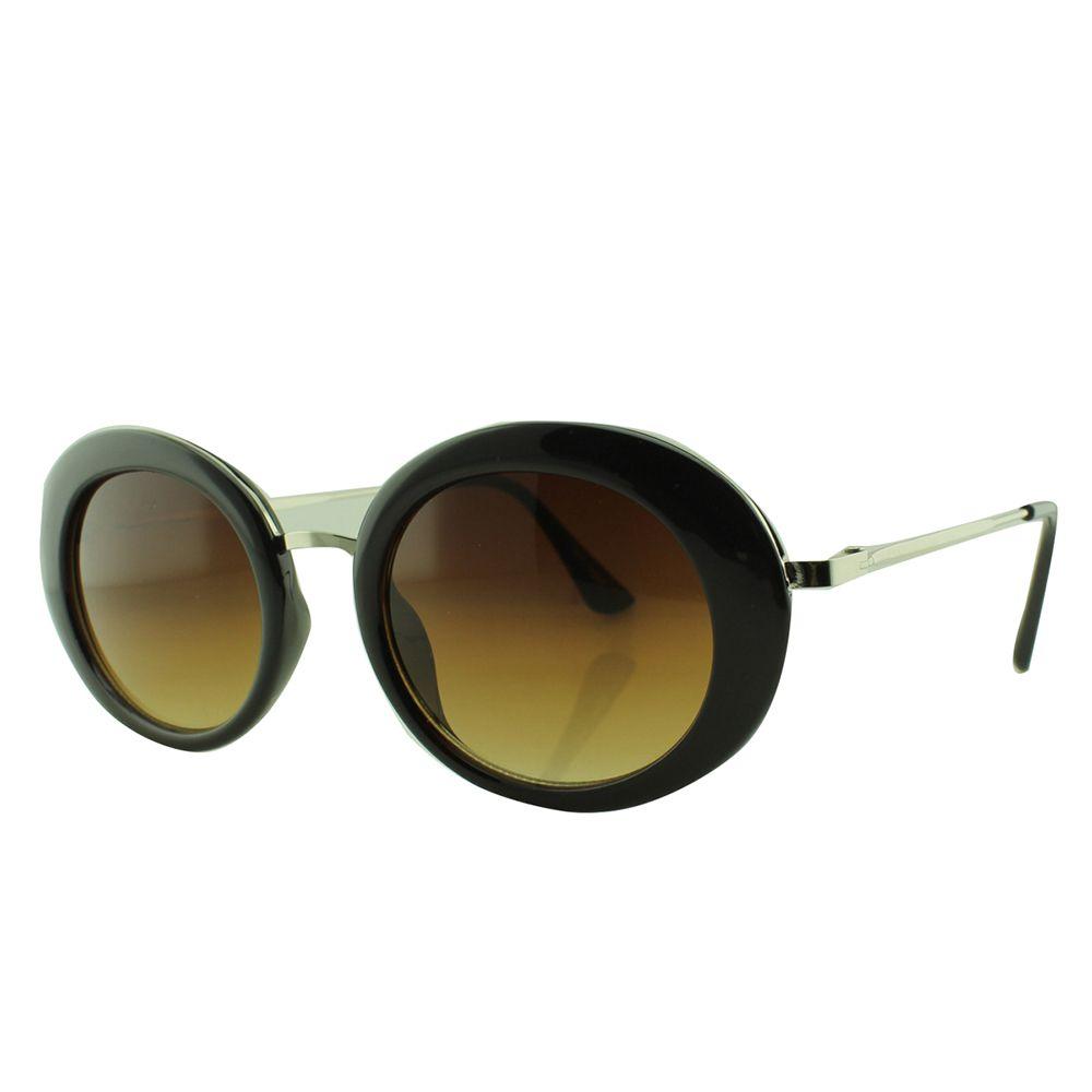 Óculos Solar Feminino NY19005 Marrom Degradê