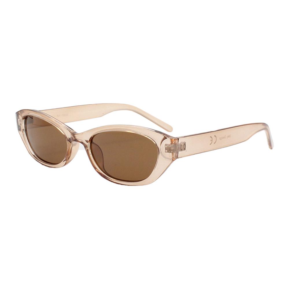 Óculos Solar Feminino NY19020 Nude e Marrom
