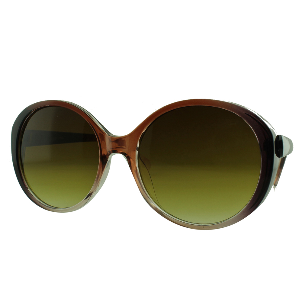 Óculos Solar Feminino NY19027 Marrom Degradê