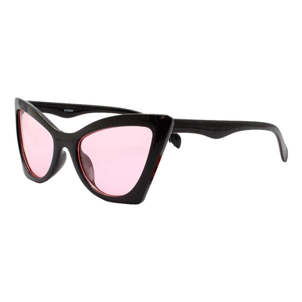 Óculos Solar Feminino NYD004 Preto e Rosa
