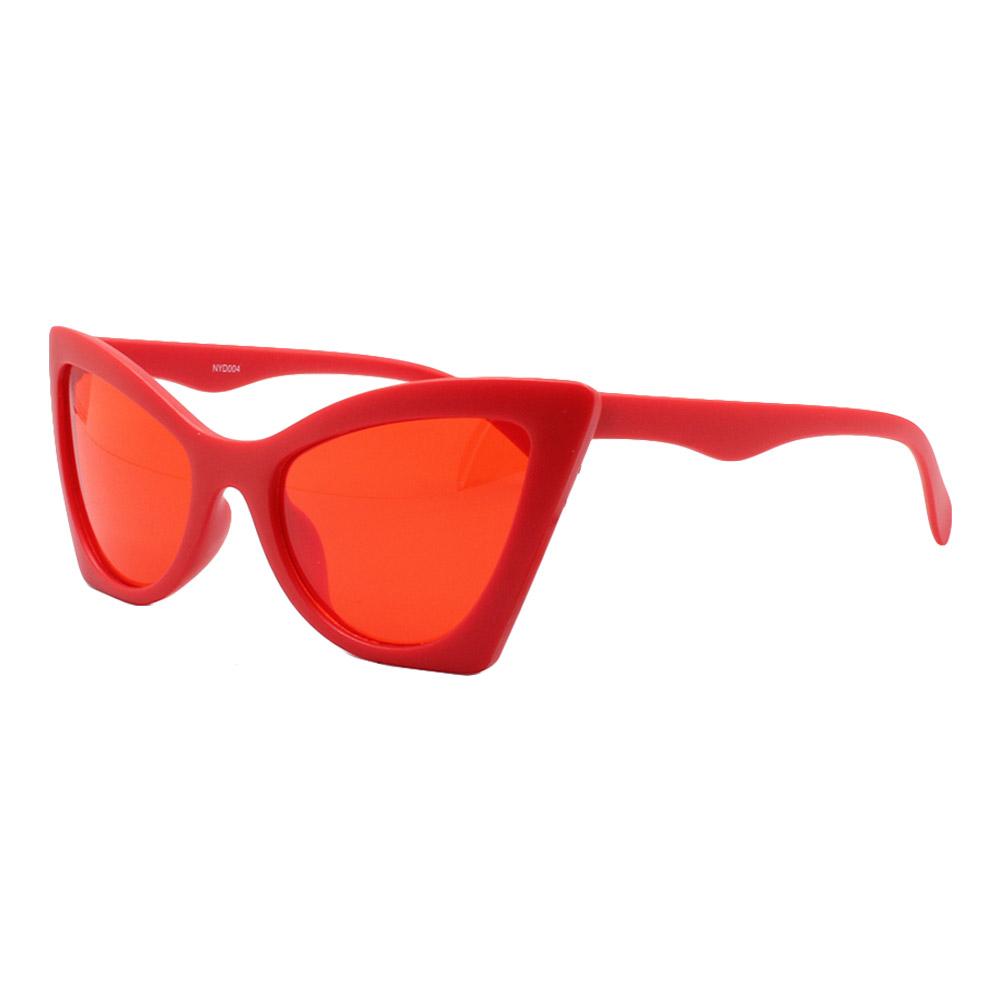Óculos Solar Feminino NYD004 Vermelho