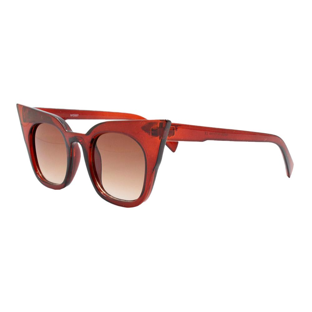 Óculos Solar Feminino NYD007 Marrom