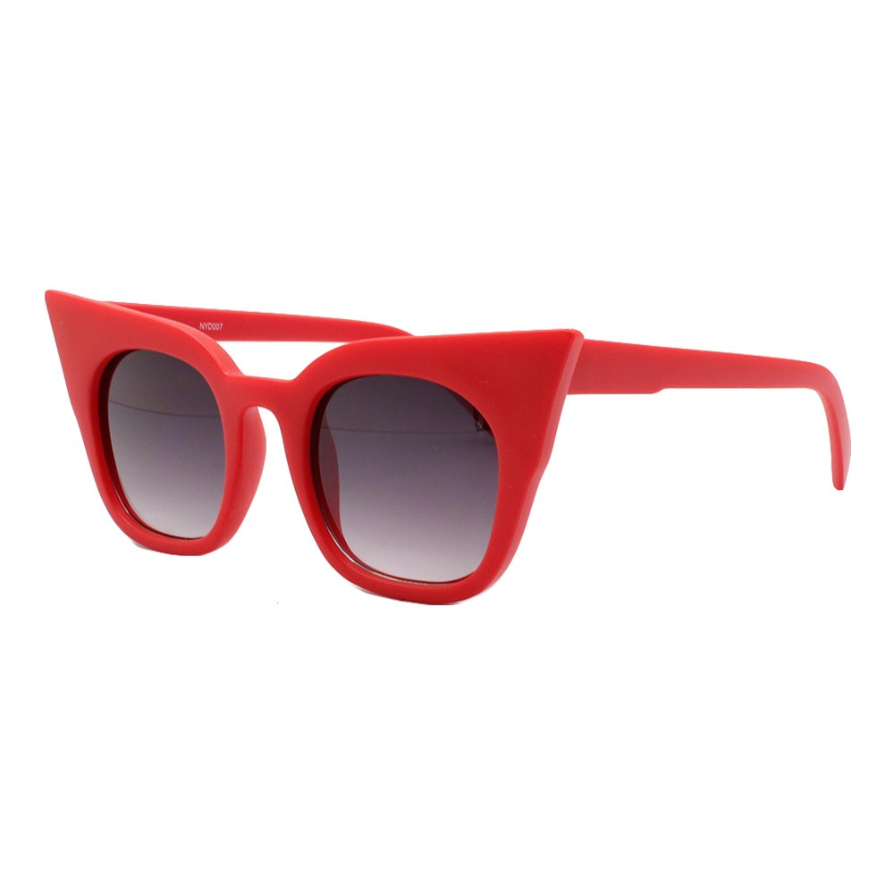 Óculos Solar Feminino NYD007 Vermelho