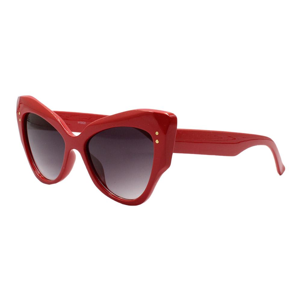 Óculos Solar Feminino NYD020 Vermelho