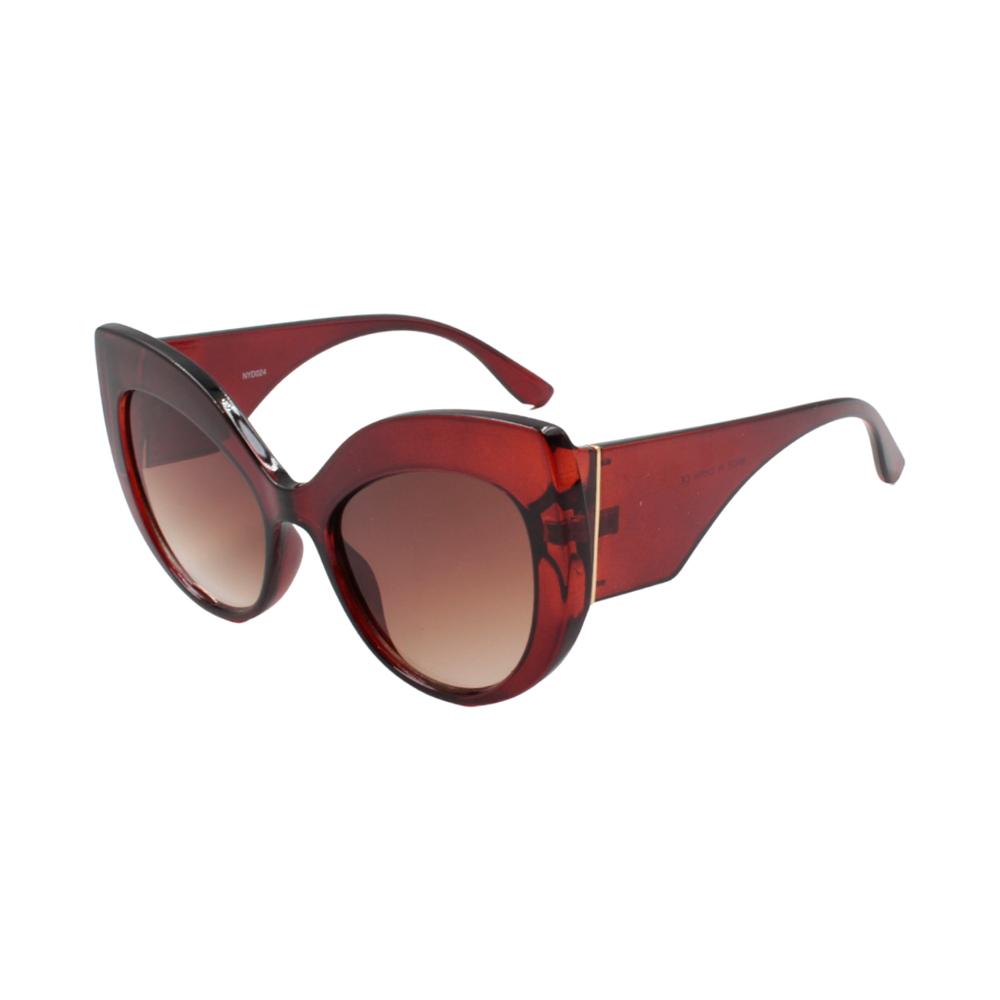 Óculos Solar Feminino NYD024 Marrom