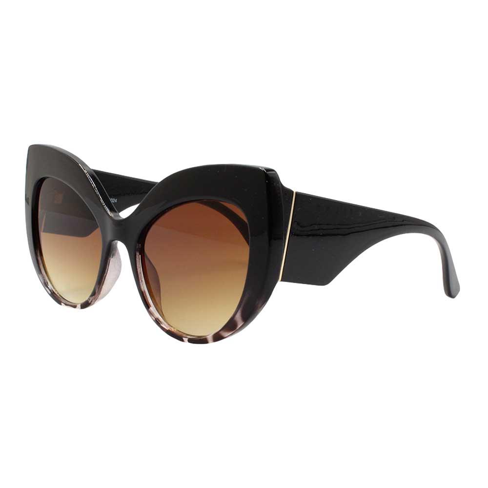 Óculos Solar Feminino NYD024 Marrom Mesclado