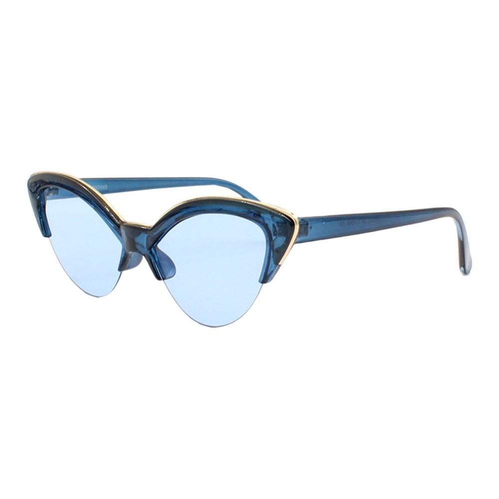Óculos Solar Feminino NYD065 Azul